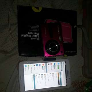 Bundle audiosonic camera and samsung galaxy tab 3 with sim slot