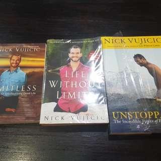 Nick Vujicic Book Set