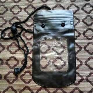 "Waterproof case HP Smartphone Max.5"" transparent"