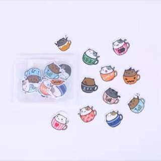 40 pcs Hamster stickers