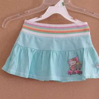 Hello Kitty Skirt with underwear included