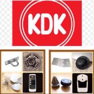 KDK Accessories (Brand new)