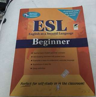 English as a second language for beginners
