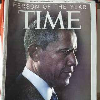 Time Magazine  (Political Figures Cover page)