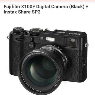 Fujifilm X100F Digital Camera Kredit Mudah