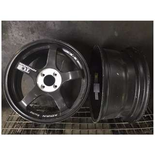 2nd hand ori ADVAN sport rim CNY Promotion
