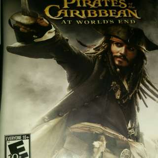 pirates of the caribbean at world's end ds game card