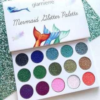 Glamierre Mermaid Glitter Eyeshadow Palette