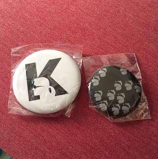 Karl lagerfeld pin