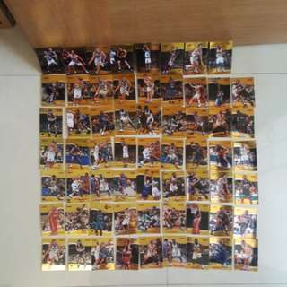 Reduced $30 NBA bowman's best series cards