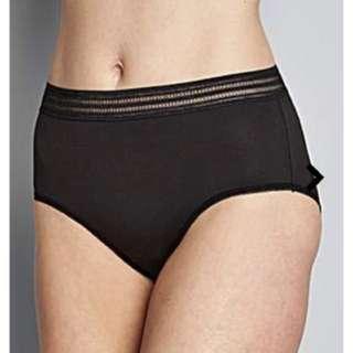 UK22-24 black underwear