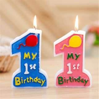 1 Birthday Boy/Girl Candle