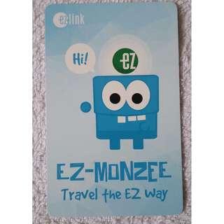 EZ-Monzee Ezlink Card