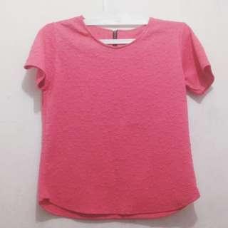 Shirt Kaos Pink Fuschia