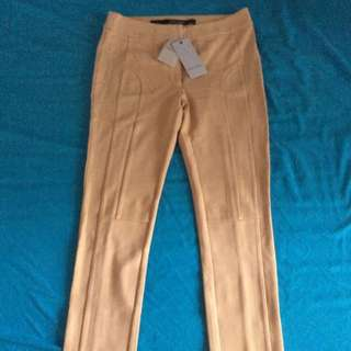 Bread n' Butter apricot tailored pants