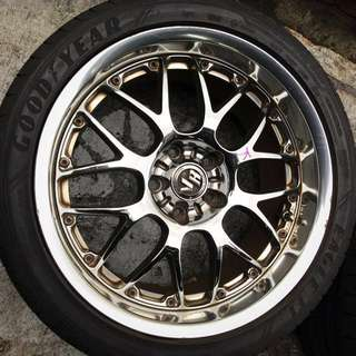 "18"" Volk Racing Rays SF Winning"