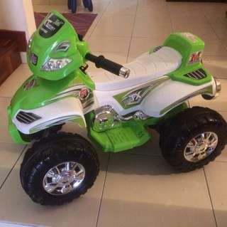 Power motored bike