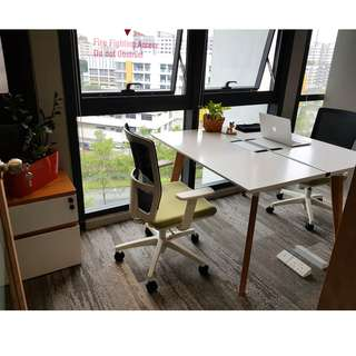 PRIVATE OFFICE FOR 2 | NEAR ADMIRALTY MRT STATION