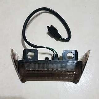 125z/Rxz Hi-Polish pillion bar - $10 Pillion bar brake light LED(New) - $15 Take both $20