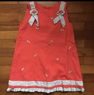 3-4 yo Red dress CNY