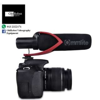 Commlite CVM V30 Directional Microphone for Video Shooting with Wind Muff ( Rode Mic Alternative )