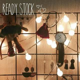 ✨ Bubble Lights | Ready Stock 🌹