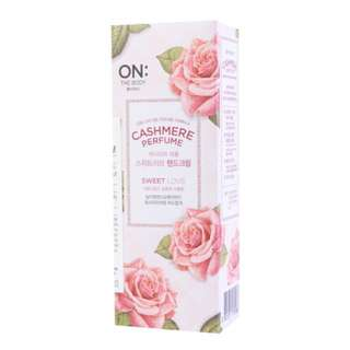 On: The Body Cashmere Perfume Lotion
