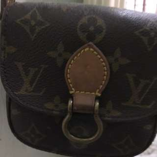 Authentic Lv small sling back