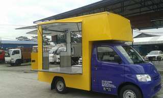 Daihatsu Mobile kitchen