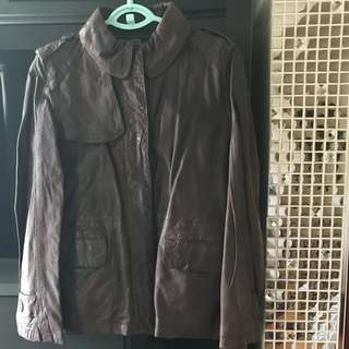 Japan Brand A.T. Sheep Skin Jacket - 代友放售日本牌子A.T.羊皮䄛