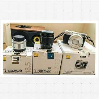 Nikon 1 J5 微單眼(雙鏡組+超廣角鏡)