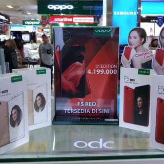 Oppo F5 red (limited edition)