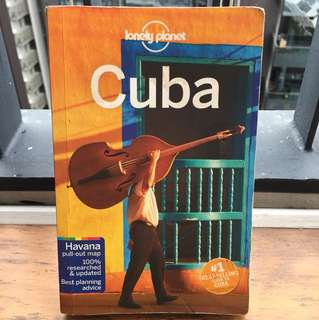 Lonely Planet Cuba 8th edition (Oct 2015)