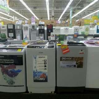 Mesin Cuci Cicilan Tanpa Kartu Kredit