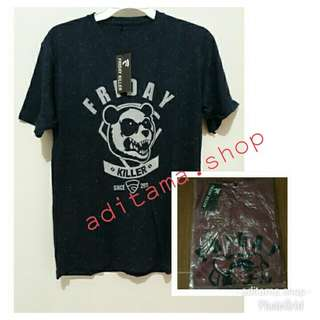 kaos pria motif friday killer