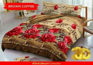 SEPRAI KINTAKUN BROWN COFFE / 180 x 200