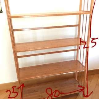 木製層架/書架