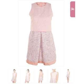 Plains and Prints Blush Beauty Barbie Dress
