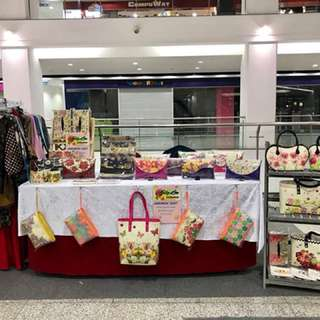 We are at boulevard mall 12-14 January 2018 first floor infront of Gintell shop..
