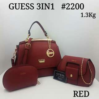 Guess 3 in 1 Bags
