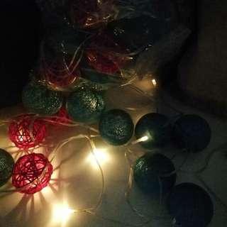 BN Rattan Balls Fairy Lights