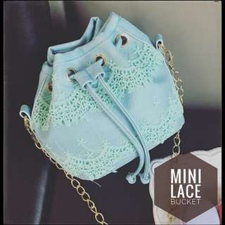 MINI LACE BUCKET