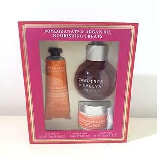 BNIB Crabtree & Evelyn Pomegranate & Argan Oil Nourishing Treats