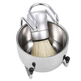 GABLE Metal Shaving Brush Set