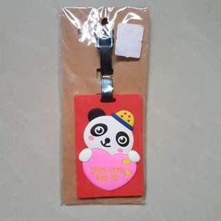 Panda Travel Luggage Tag