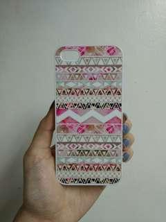 iPhone 5 Pink Aztec Case