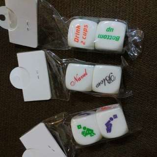 Naughty dice for bridal/ bachelor party