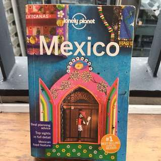 Lonely Planet Mexico 15th edition (Sep 2016)