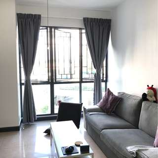 Condo Room for rent (renovated with air con)