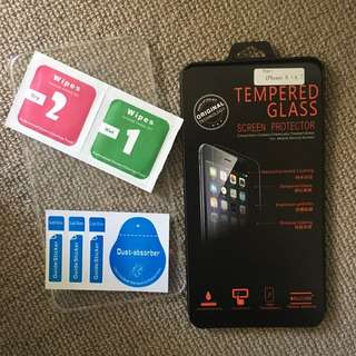 FREE Tempered glass screen protector front & back
